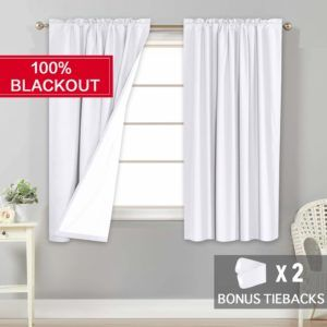 Top 10 Best White Blackout Curtains In 2020 Reviews Home Kitchen In 2020 Curtains White Blackout Curtains Blackout Drapes