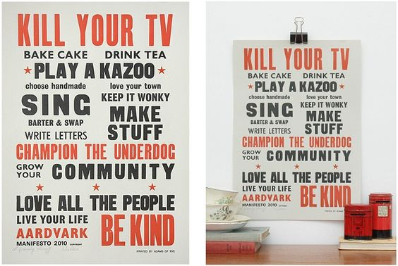 Aardvark Manifesto 2010 | Prints | Keep Calm Gallery
