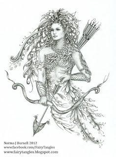 Fairy Tangles: February 2012