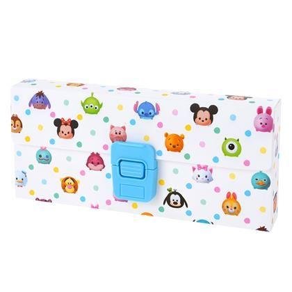 Mickey & Friends Tsum Tsum Pencil Box ~ Disney Store Japan