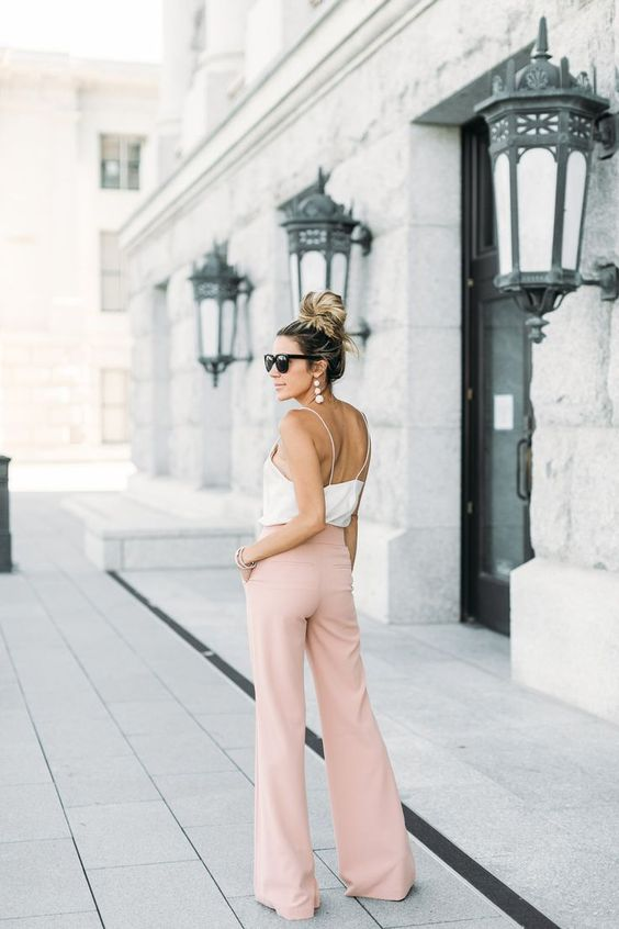 Wide Leg Blush Pants!