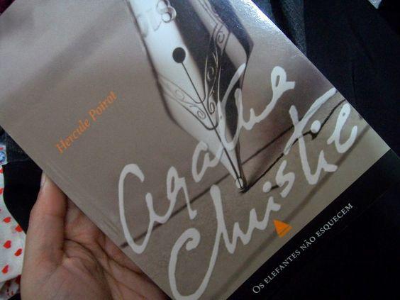 Canto da =)Domino(=: Livro: Os Elefantes Não Esquecem - Agatha Christie...