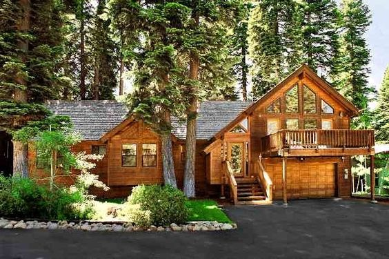Tahoe City Vacation Rental - VRBO 163749 - 5 BR Lake Tahoe North Shore CA House in CA, Black Bear Lodge-5 Bdrm Luxury Cabin-Hot Tub-Backyard...