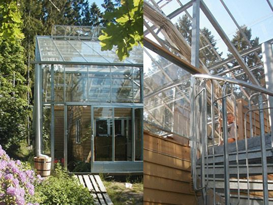 Naturhus An Entire House Wrapped In Its Own Private
