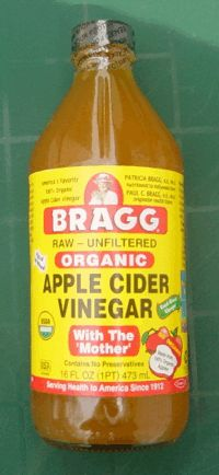 Apple Cider Vinegar! Think I might give it a go! :)