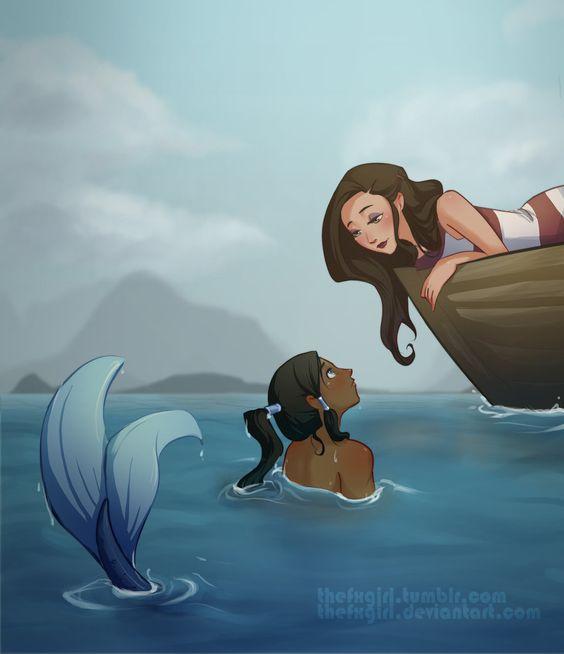 Korra Mermaid - Korrasami