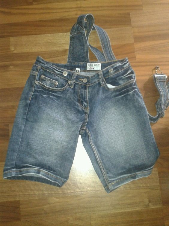 Jeans latzhose kurz xs Damen | eBay