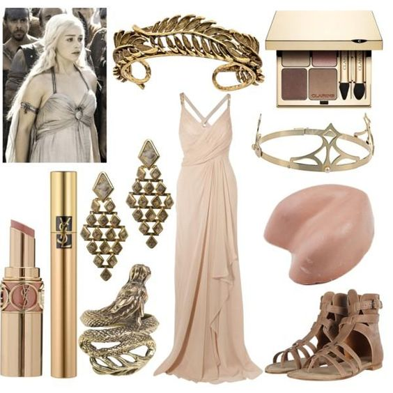 I found 'Daenerys Targaryen inspired Game of Thrones Outfit' on Wish, check it out!