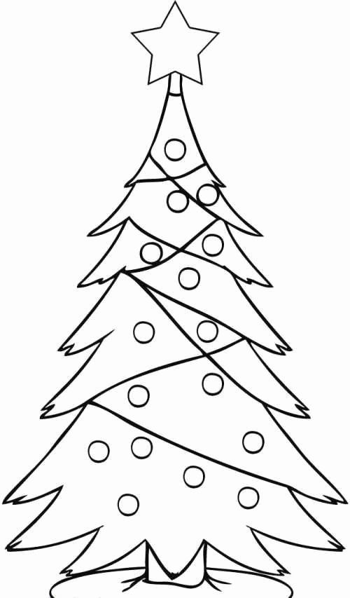 Coloring In Pages Christmas Awesome Inspirational Pine Tree