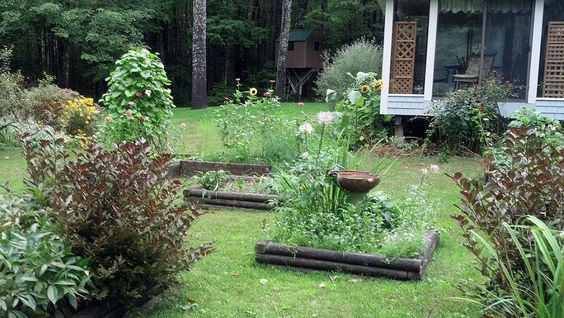 Raised Beds Create Focal Point in Sunny Garden Spot
