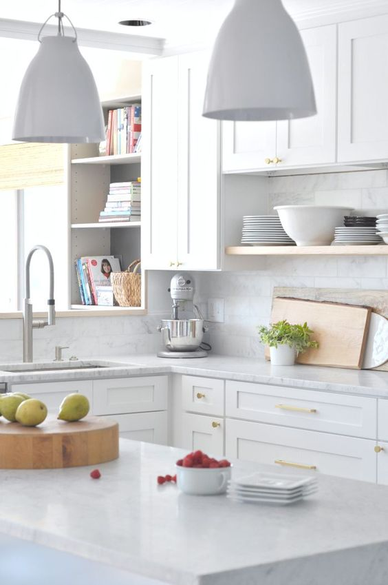 This Stunning White Kitchen Highlights How One Color Can