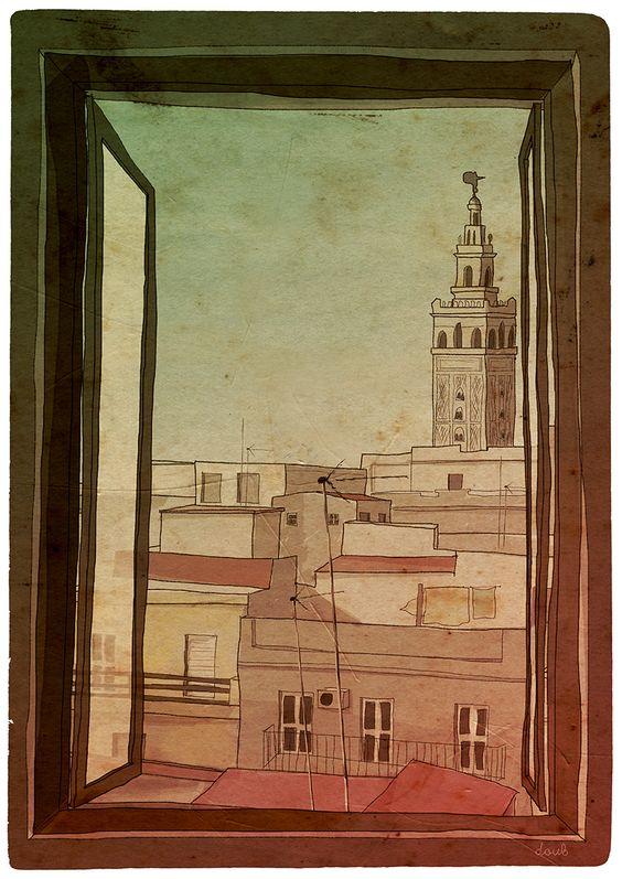 Postcard from... Sevilla.
