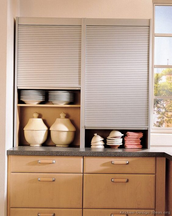 Upper Kitchen Cabinets With Sliding Doors Http Thersandia On