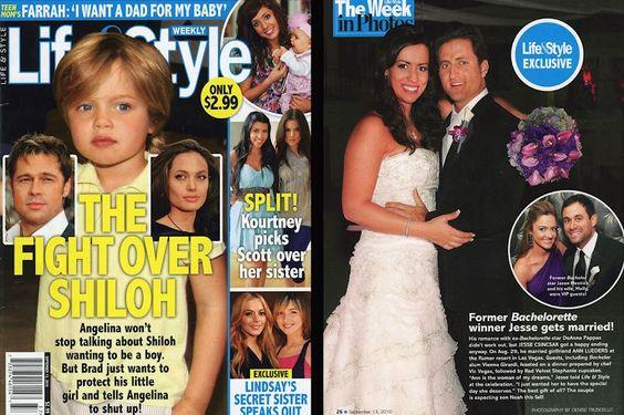 Life & Style Magazine - Ann & Jesse Csincsak Wedding in Las Vegas