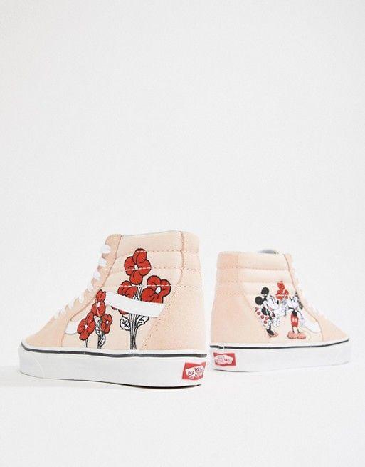 Vans   Vans X Disney SK8 Hi mickey and mini trainers   Schuhe