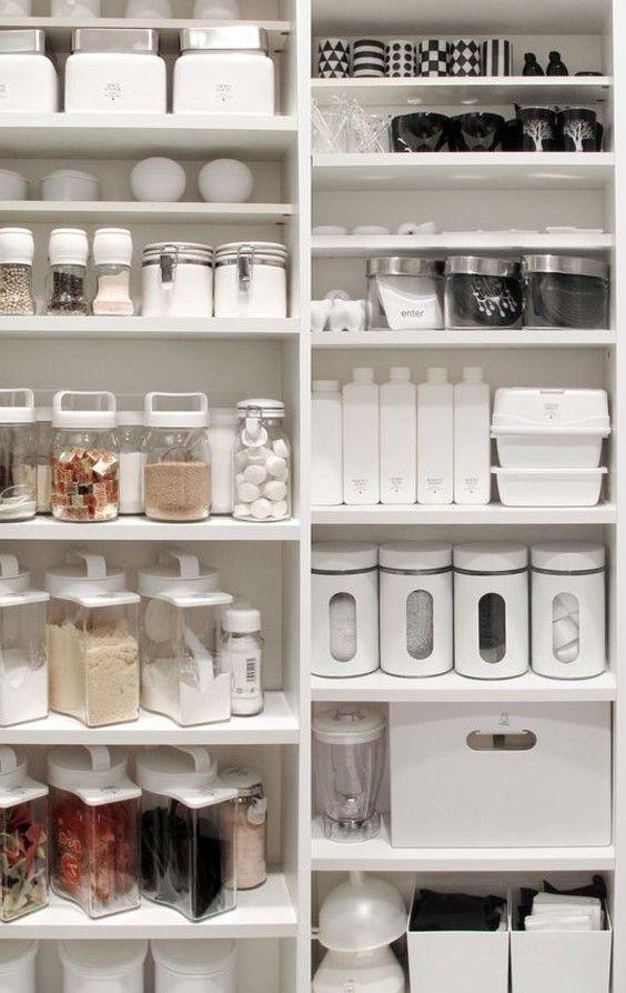 주방 물건들 수납정리 팬트리룸 인테리어 네이버 블로그 부엌 정리 가정용 인테리어