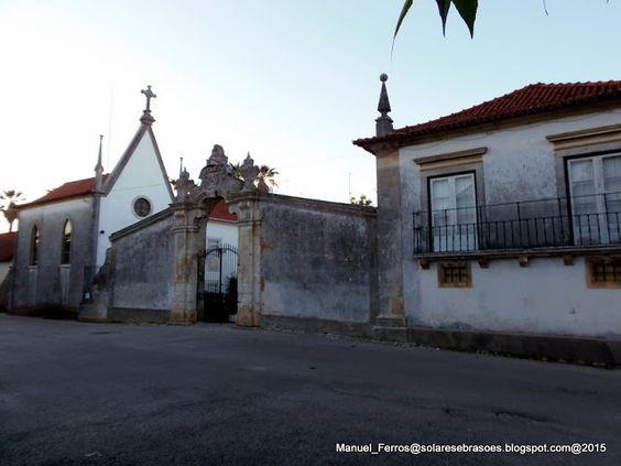 Solares e Brasões:  - Casa de Óis-do-Bairro, Concelho de Anadia, Distrito de Aveiro, Portugal