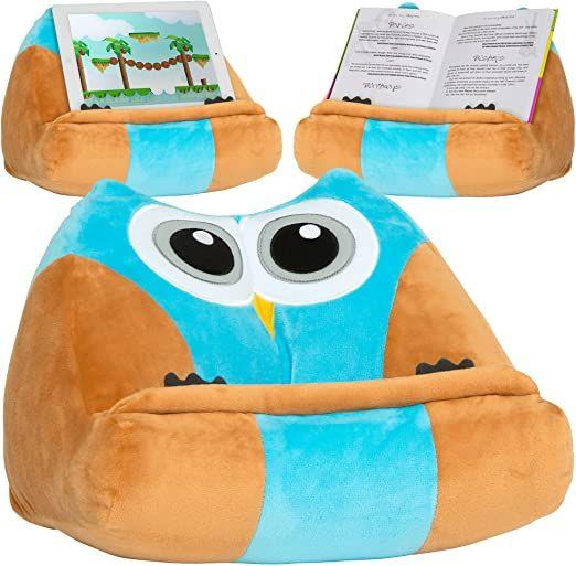 cuddly reader book ipad tablet holder