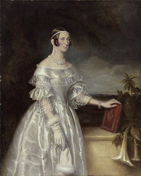 Maurice Felton Portrait of Mrs Alexander Spark 1840: