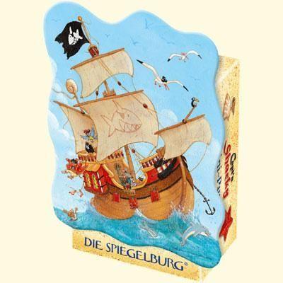 Captn Sharky Mini- Puzzle Piratenschiff