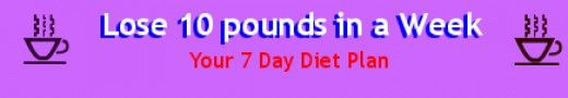 Lose 10 pounds in a week- 7 Day Diet Plan (my friend swears by it!!)