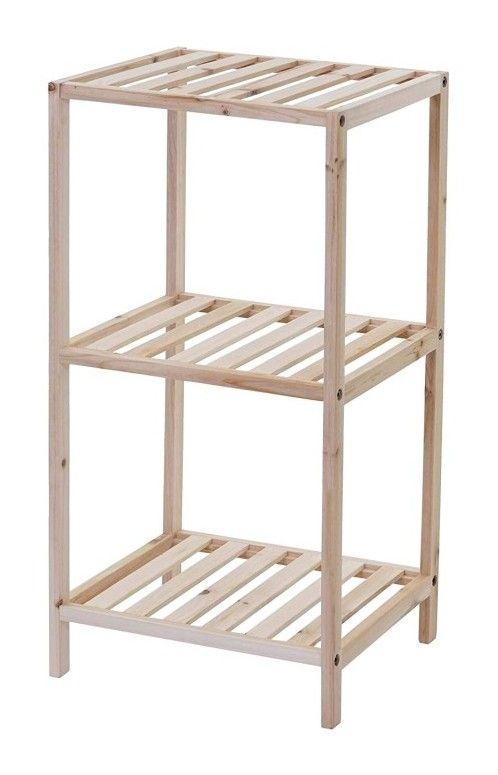 Etagere Rangement En Bois Salle De Bain 3 Niveaux En Bois 70x35x30 Cm Decoshop26 Furniture Home Decor Decor