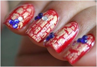 stylish of nail art for womens 2014
