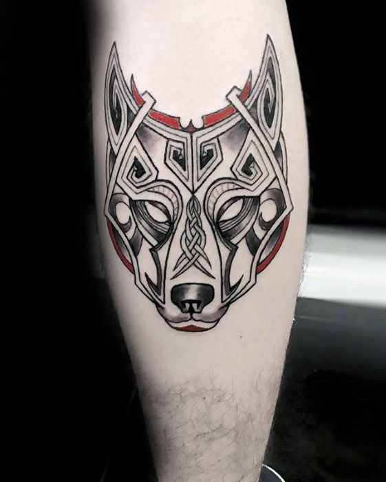 50 Celtic Wolf Tattoo Designs For Men Knotwork Ink Ideas Celtic Wolf Tattoo Celtic Tattoos For Men Tattoo Designs Men