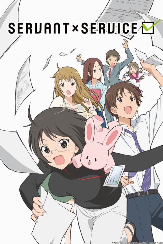 In a certain ward of a certain city in Hokkaido... The ward office where Yamagami Lucy has been hired employs many unique characters on its staff. Yamagami and her colleagues are full of energy and secrets as they're hard at work (?!) in this workplace comedy!