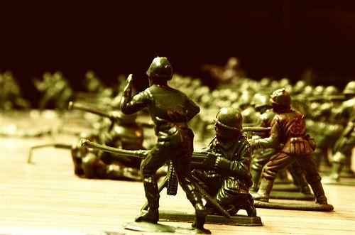 Fantasías... A la guerra