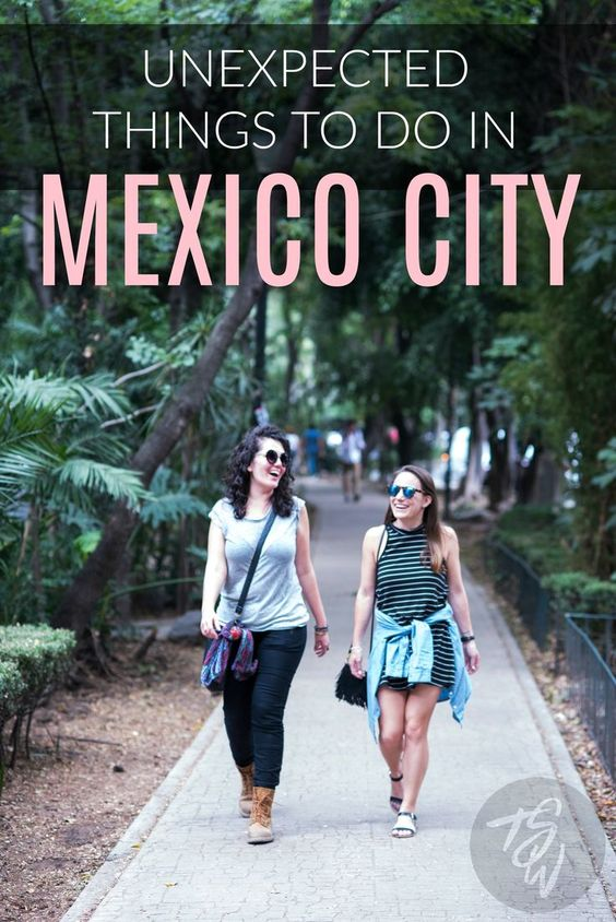 There is more to Mexico City than tacos and tequila!  Check out these four unexpected things to do in Mexico's vibrant capital.: