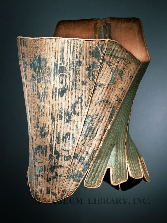 Corset Europe, c. 1765 Helen Larson Historic Fashion Collection Proposed FIDM Museum Acquisition L2011.13.79