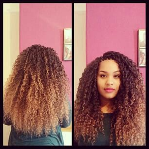 Crochet Hair Ombre : ... Crochet Braids Addicted Pinterest Ombre, Braids and Crochet braids