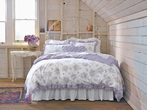 Simply Shabby Chic Lilacs bedding collection at Target this month!