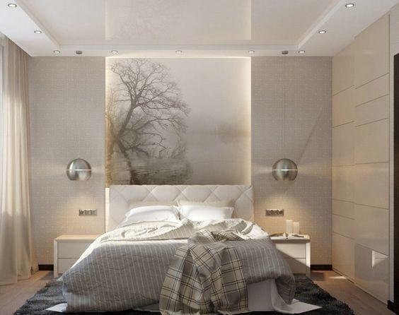 Beleuchtung im schlafzimmer deckenspots pendelleuchten led leisten cyberbambi pinterest - Schlafzimmer beleuchtung led ...