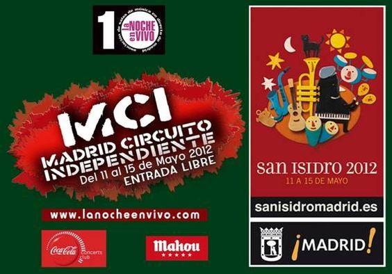 Madrid Circuito Independiente 2012 ver cartel  Diversas salas de Madrid, Madrid  desde 11 mayo 2012 hasta 15 mayo 2012