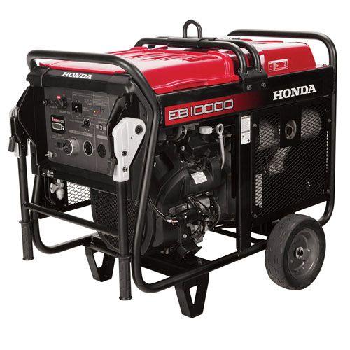 Honda 10000w Portable Deluxe Generator Diamond Tool Equipment Rentals In 2020 Honda Generator Gas Generator Industrial Generators
