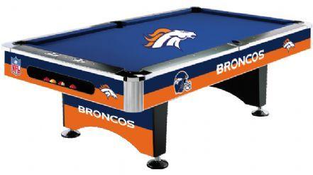 Denver Broncos Pool Table