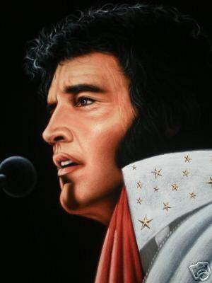 Elvis Aaron Presley a (January 8, 1935 – August 16, 1977 ...  |1977 Elvis Painting