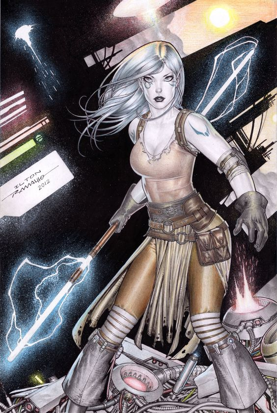 Jarael - A young female Arkanian in the comic book series Star Wars: Knights of the Old Republic.