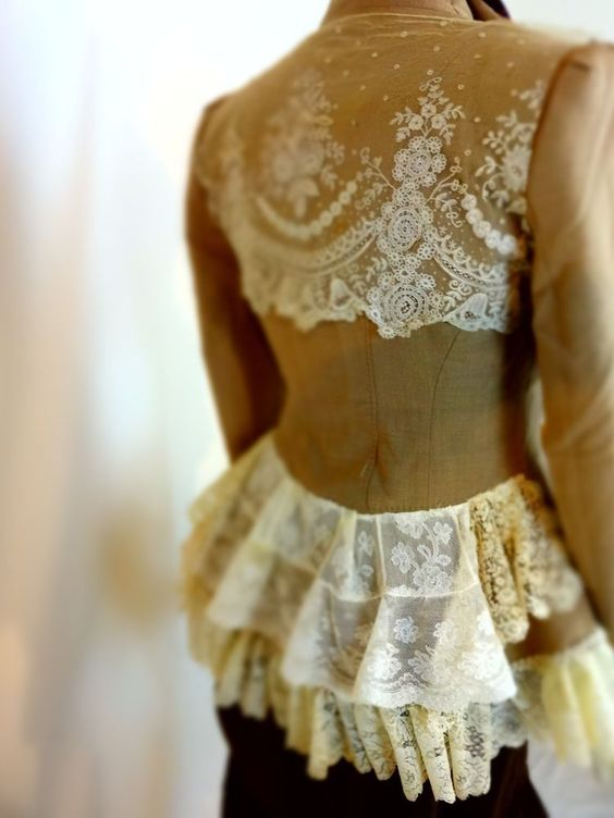 French lace, Victorian and Shabby