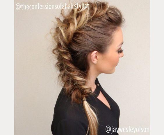 braided prom hair ~ we ❤ this! moncheriprom.com