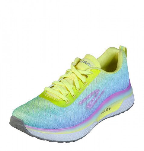 Skechers Go Run Steady Endure Yellow Multi Neon Running Shoes