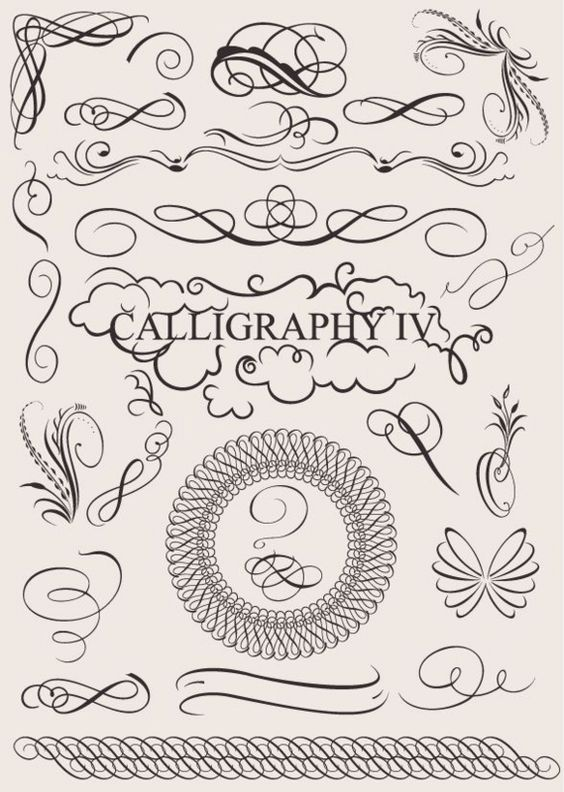 Graphics calligraphy and banners on pinterest
