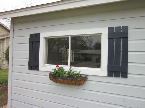 Window Shutters For The Home Pinterest Diy Shutters