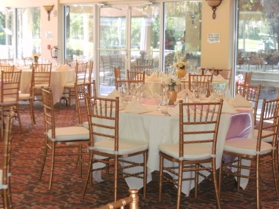 Chiavari Chairs make such a difference.