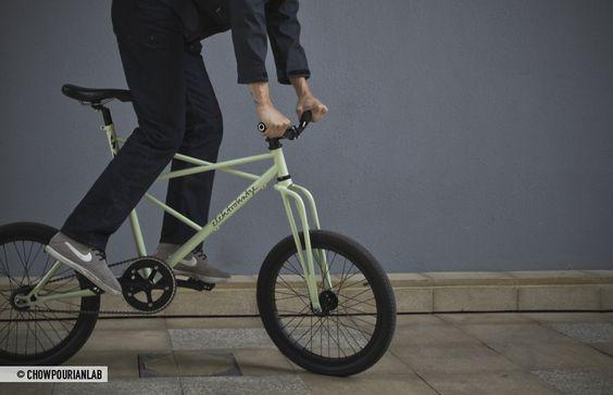 Elektrokatze, un prototype de vélo hybride singlespeed