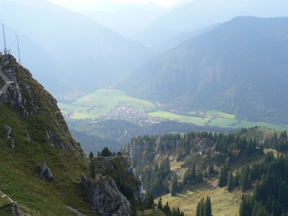 The view from Wendelstein.