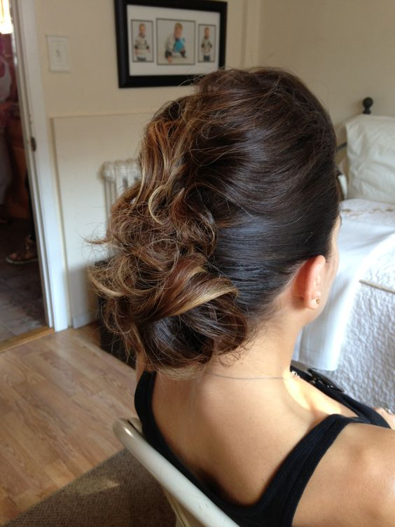 ... designs weddings weddings events and more fun updo hair messy updo