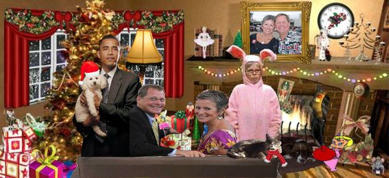 We can't even get the government out of our Christmas Card photo.